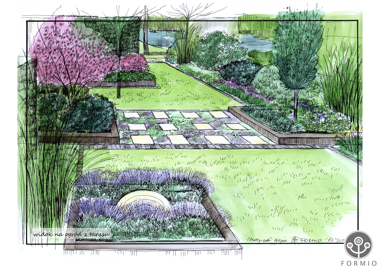 images about Geometric Lawns on Pinterest Lawn